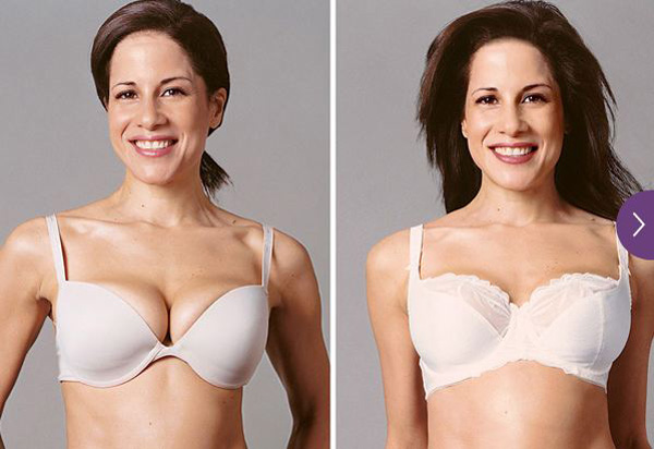 Before And After Bra Makeovers