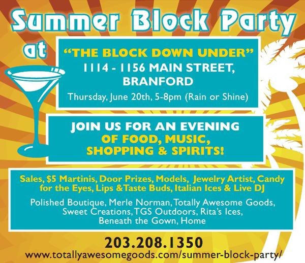 branford summer block party. Black Bedroom Furniture Sets. Home Design Ideas